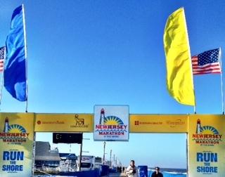 New Jersey Marathon Finish Line